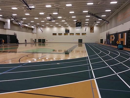 Preble High School Running Track Surfaces