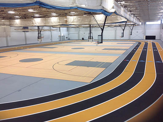 Reed Custer High School Running Track Surfaces