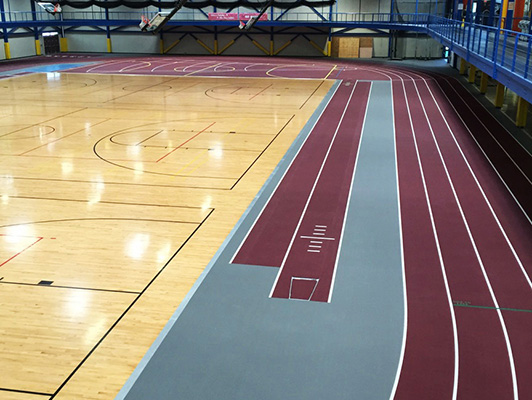 Southern Illinois University Running Track Surfaces