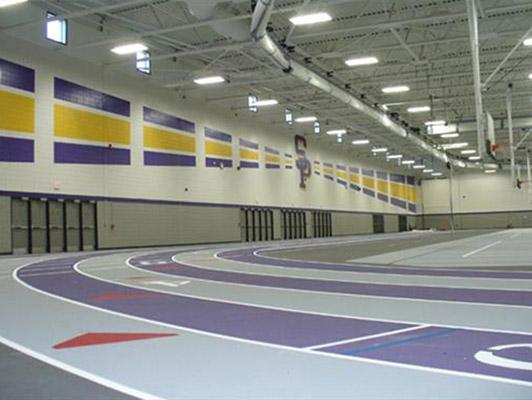 Stevens Point High School Running Track Surfaces