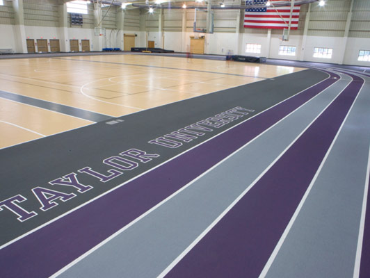 Taylor University Running Track Surfaces