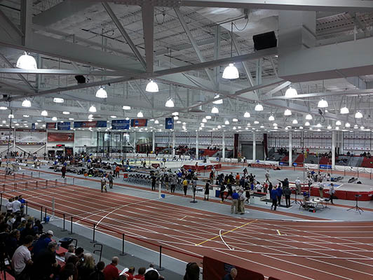 University Of Nebraska Running Track Surfaces
