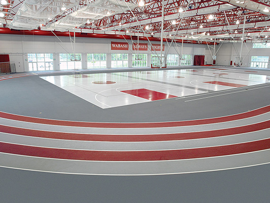 Wabash College Running Track Surfaces