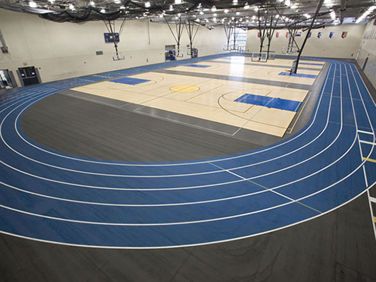 Wheaton North High School Running Track Surfaces