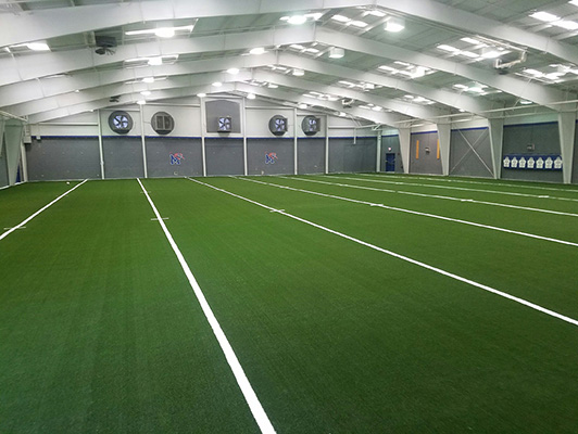 University Of Memphis - Indoor Artificial Turf
