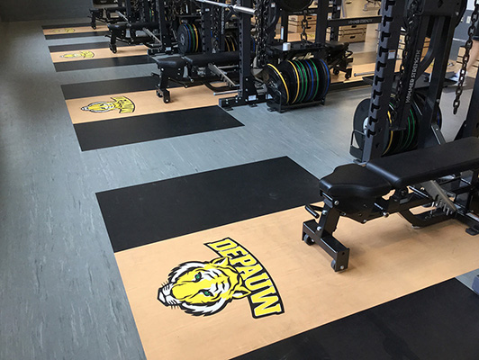 DePauw University, Weight Room, IN