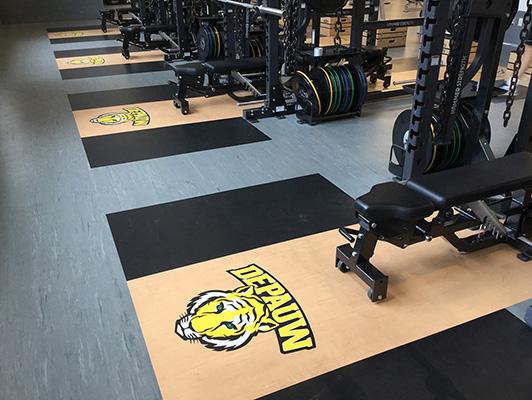 DePauw University, Weight Room, IN