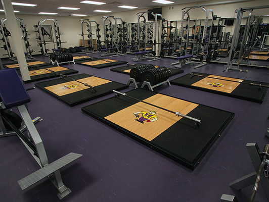 Hobart High School Weight Room Flooring