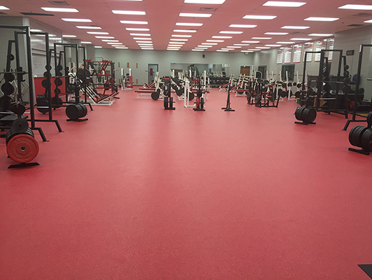 Pike High School, Weight Room, IN