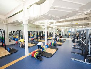University of Michigan Rec weight room