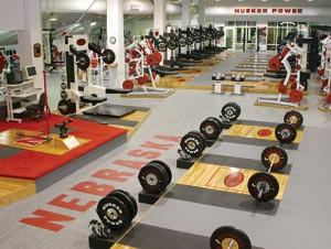 Weight Room Flooring - University of Nebraska