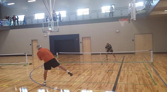 Camelot Park Community Center - Hardwood Gym Floor