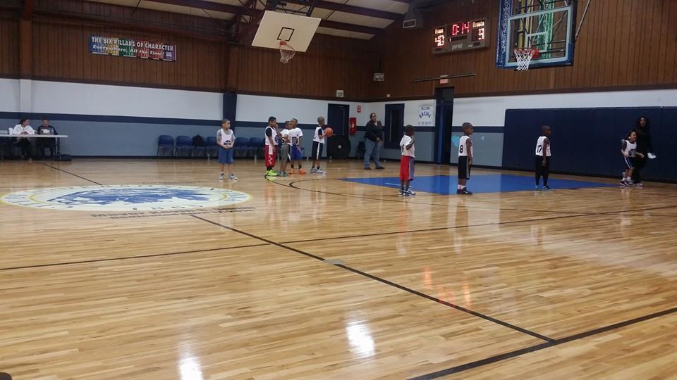 Greater Community Center - Gymnasium Floor