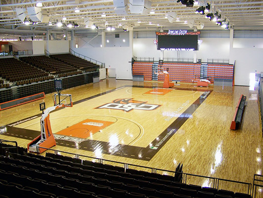 Bowling Green State University - Wood Gym Flooring