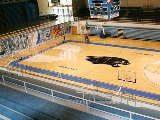 Eastern Illinois University - Hardwood Gym Flooring