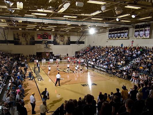 Purdue University -gym Volleyball Flooring