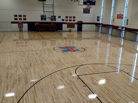 Gym Flooring Hardwood Gym Flooring Kiefer Usa Sports