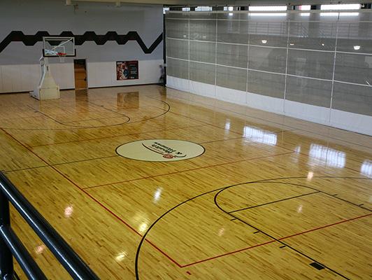Rosemont Health Fitness Gym Floor