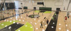 Moraine Valley Community College - Hardwood Gym Flooring