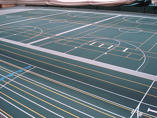 Black Hills State University - Sports Flooring