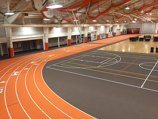 Bowling Green State University - Indoor Sports Flooring