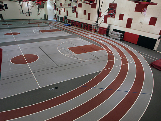 East Central High School Sports Flooring