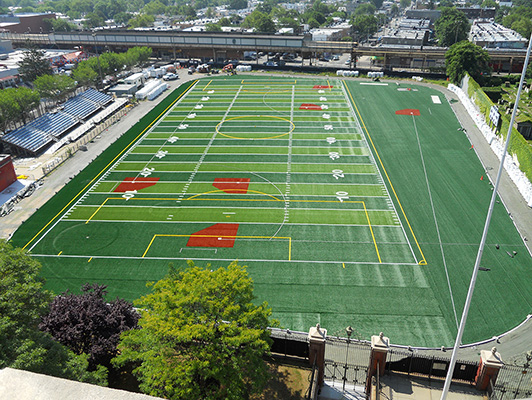 Franklin K Lane High School - Outdoor Sports Flooring