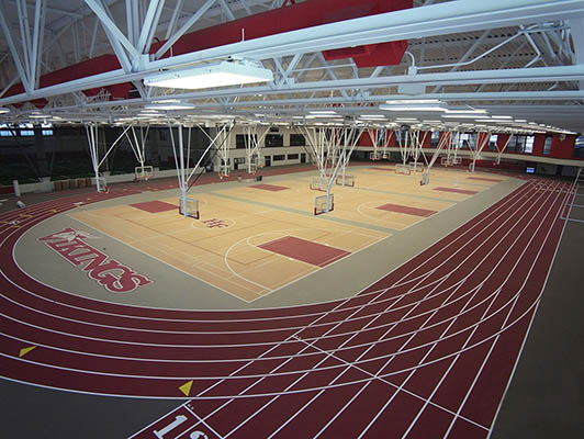 Homewood-Flossmoor High School - Multi Purpose Sports Flooring