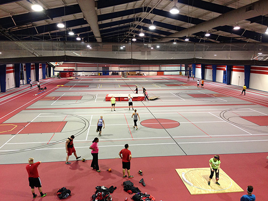 Lewis University - Multi Purpose Athletic Flooring