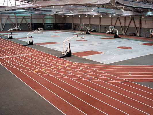 Rose Hulman Institute - Indoor Sports Rubber Flooring