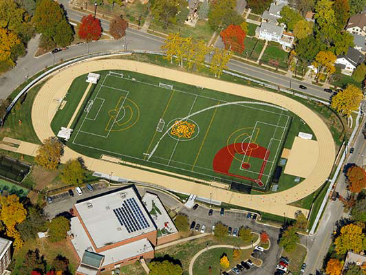 St. Teresa's Academy - Outdoor Athletic Surfaces