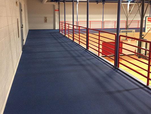 Murfreesboro Sportscom - Walking Rubber Track