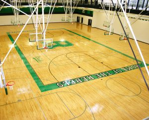 Ridgewood High School - Hardwood Gym Flooring
