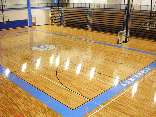 Gym Flooring Hardwood Gym Flooring Kiefer Usa Sports Flooring