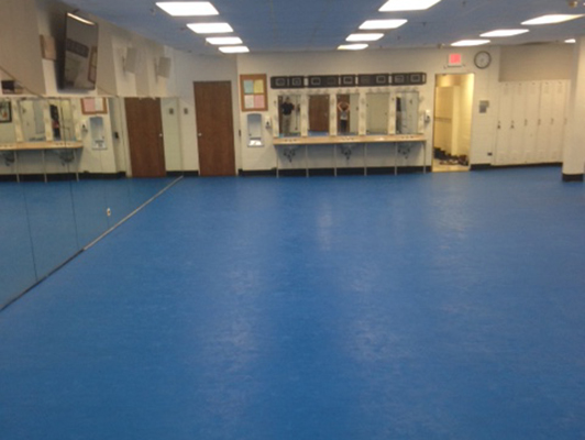 Highland Park High School - Group Dance Flooring