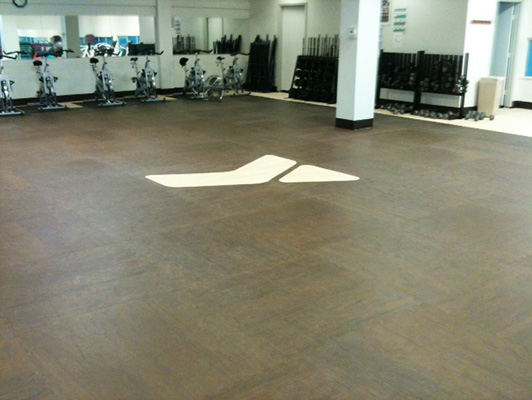 YMCA Odessa, Texas - Group Dance Flooring