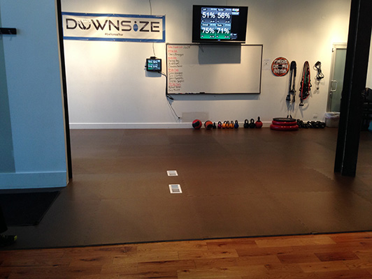 Downsize Fitness Flooring