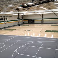 Greenwood High School, Wood Gym, IN