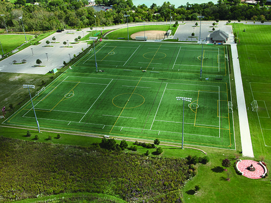 Loyola Academy Lacrosse Field Turf