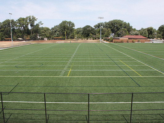 Winnetka Park District Lacrosse Field Turf