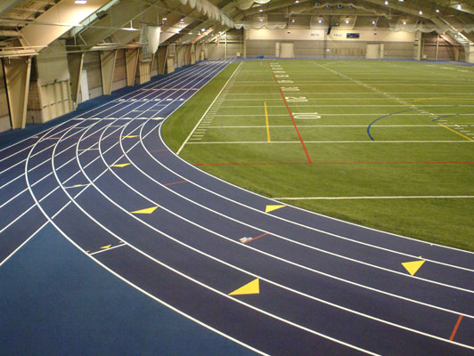 University Of Notre Dame - Indoor Sports Floors