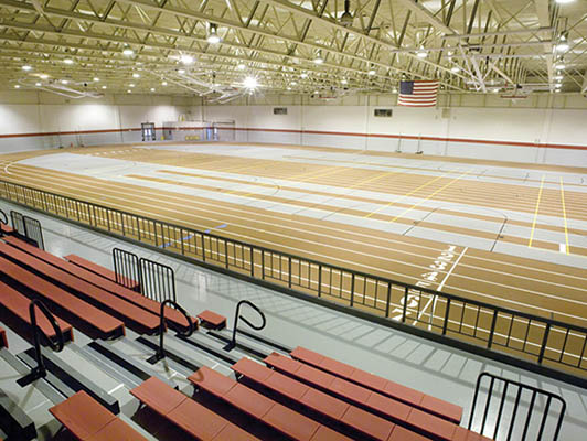 Proviso West High School - Sports Flooring