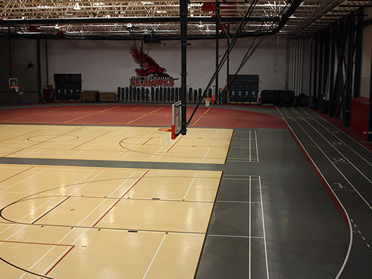 Southeast Missouri State University - Indoor Sports Flooring