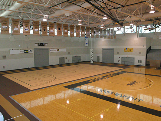 Southwest Minnesota State University - Indoor Sports Flooring