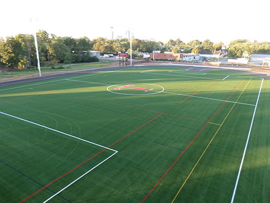 Transylvania University - Outdoor Sports Flooring