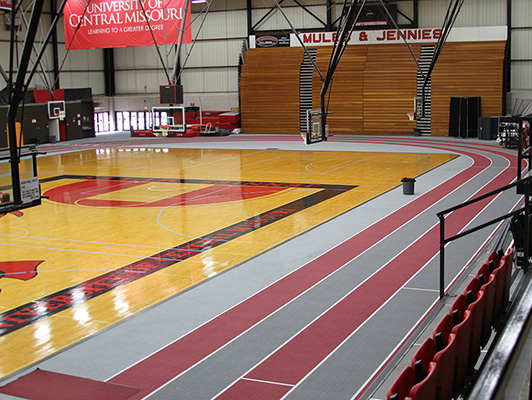 University Of Central Missouri - Indoor Sports Flooring