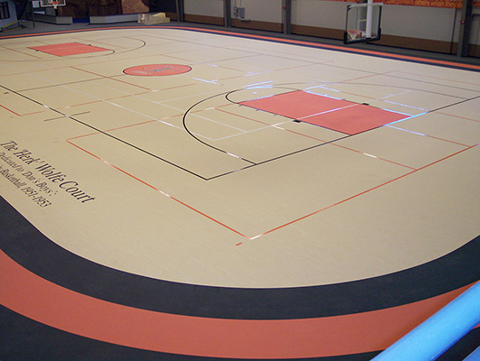 University Of Findlay - Indoor Sports Rubber Flooring