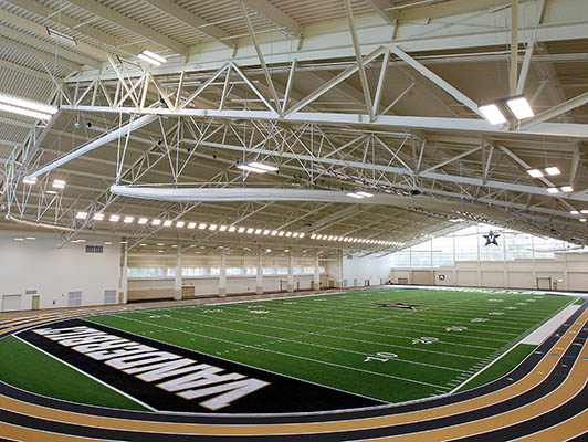 Vanderbilt University - Indoor Sports Flooring