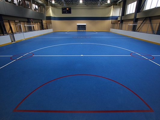 Indiana State University - Rubber Sports Flooring