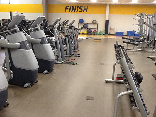 Sanford Rec - Fitness Floors